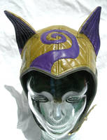 Green/ Purple Kitty Cat Aviator by LeatherHead72