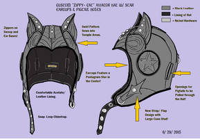 Custom Zippy Cat Aviator by LeatherHead72