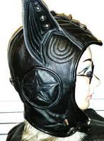 {Zippy} Leather Cat Hat Custom Design by LeatherHead72