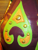 Hermes Trismegistus Leather Wizard Hat, Arrow by LeatherHead72