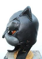 Custom Leather Wildcat Cowl Hood! by LeatherHead72