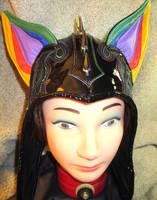 Cat- Ear Leather Aviator for PyroGangBang! by LeatherHead72