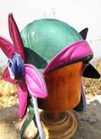 Flower Power Leather Aviator! by LeatherHead72