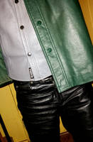 Fully Leathered Guy by LeatherHead72