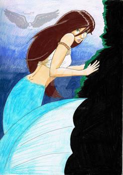 Shy Mermaid.