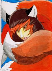 Kitsune by Tressah19