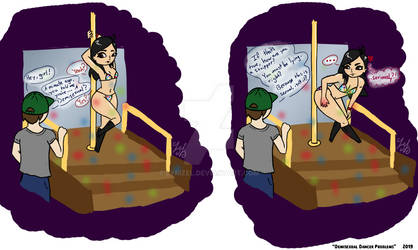 Comic - 'Demisexual Dancer Problems'