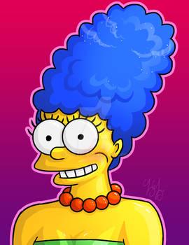 Marge Simpson Fan Art