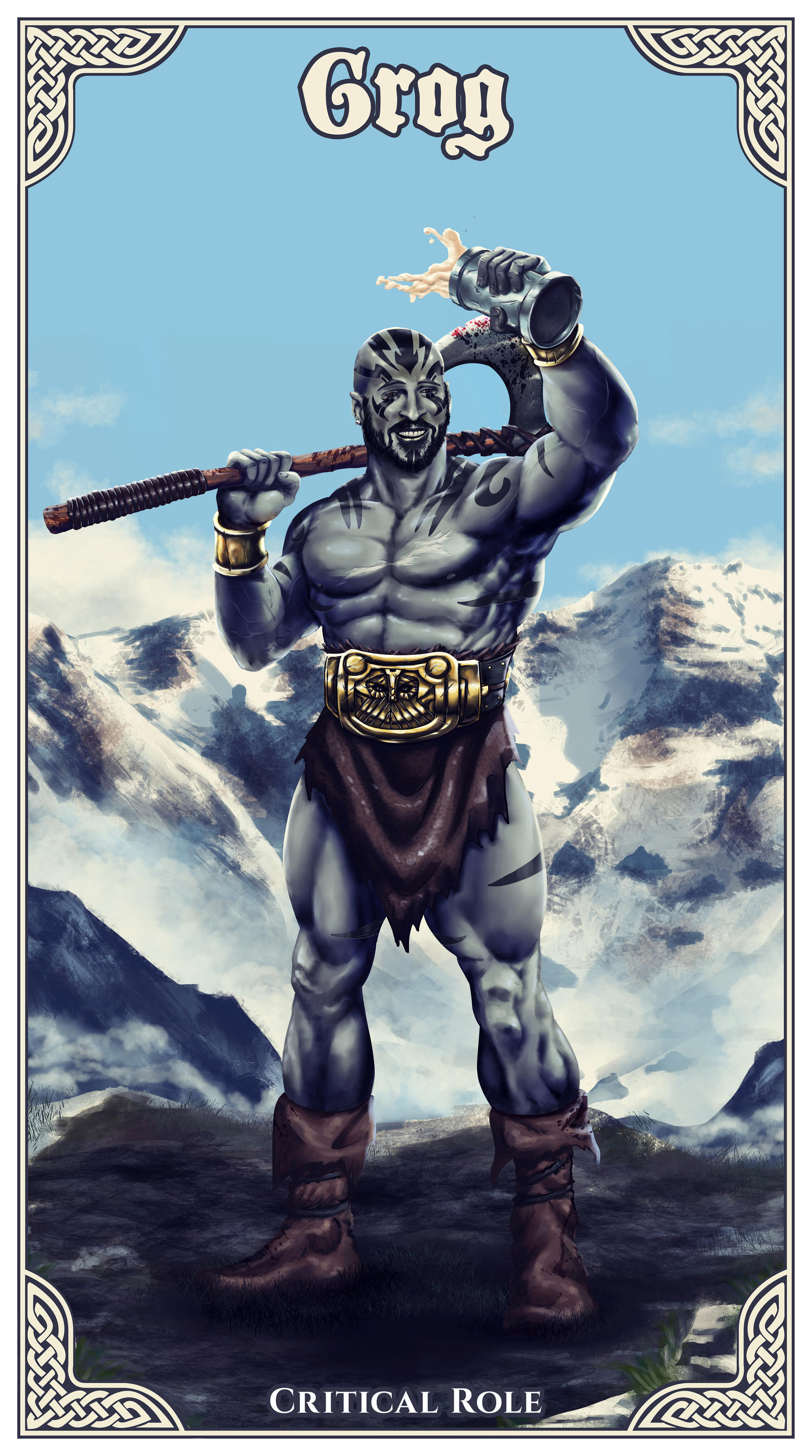 Grog Critical Role By Ibeenthere On Deviantart Amazing dungeons & dragons fan art. grog critical role by ibeenthere on