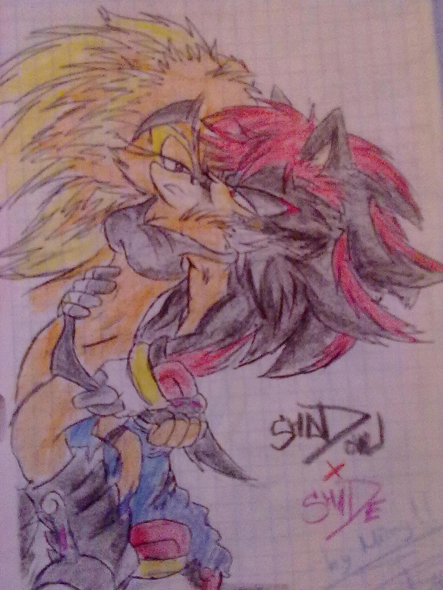 Sonic Shadow Silver Scourge
