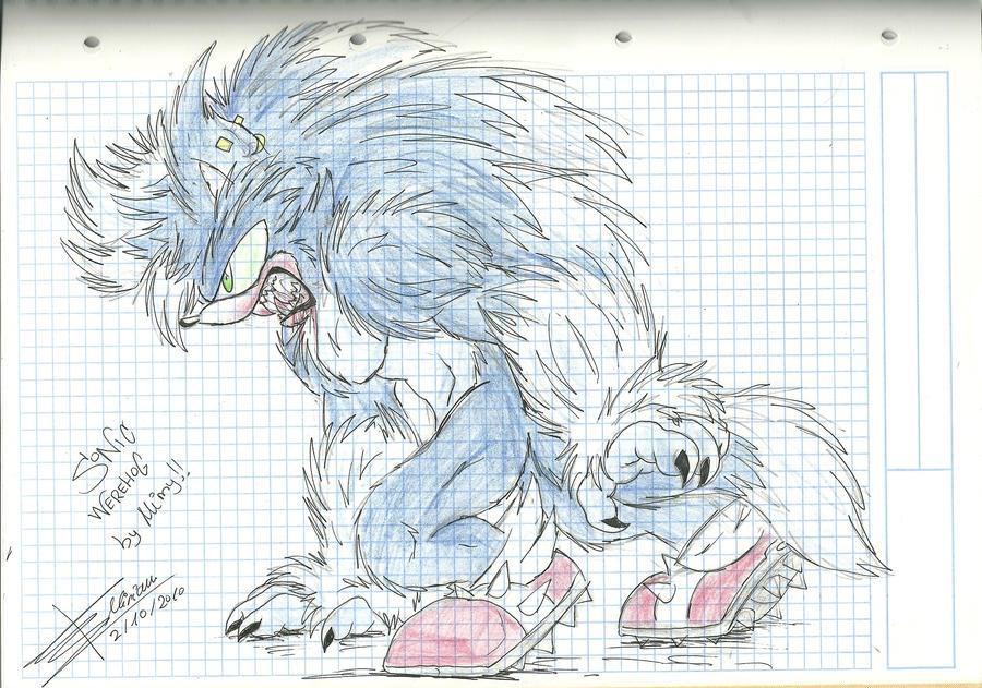 Sonic Werehog deviantART