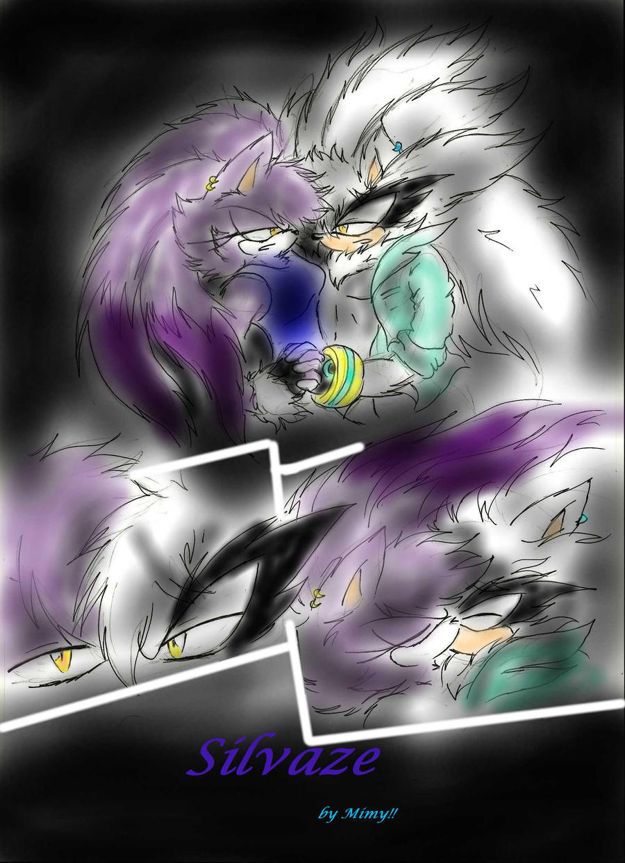 Sonic Shadow and Silver by Mimy