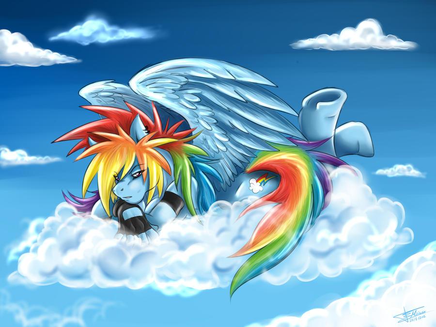 Rainbow Daaasshh by Mimy92Sonadow