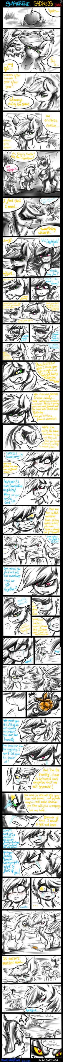 Summertime  Sadness Comic1 (AppleDash) by Mimy92Sonadow