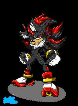 Happy Birthday Sonic!! 2020 Shadow version XD