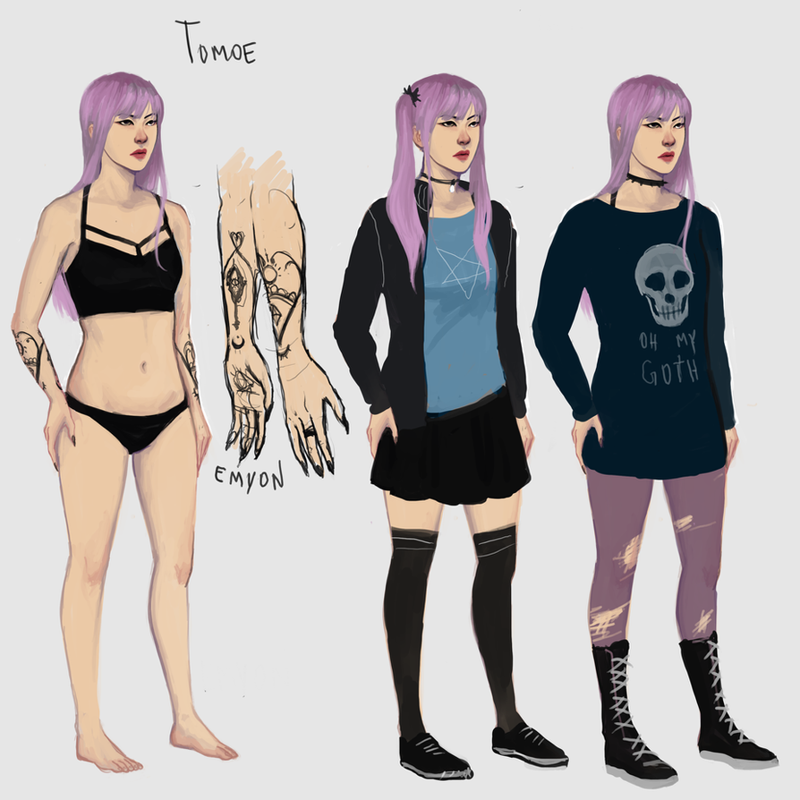 tomoe development thingy by Emyon