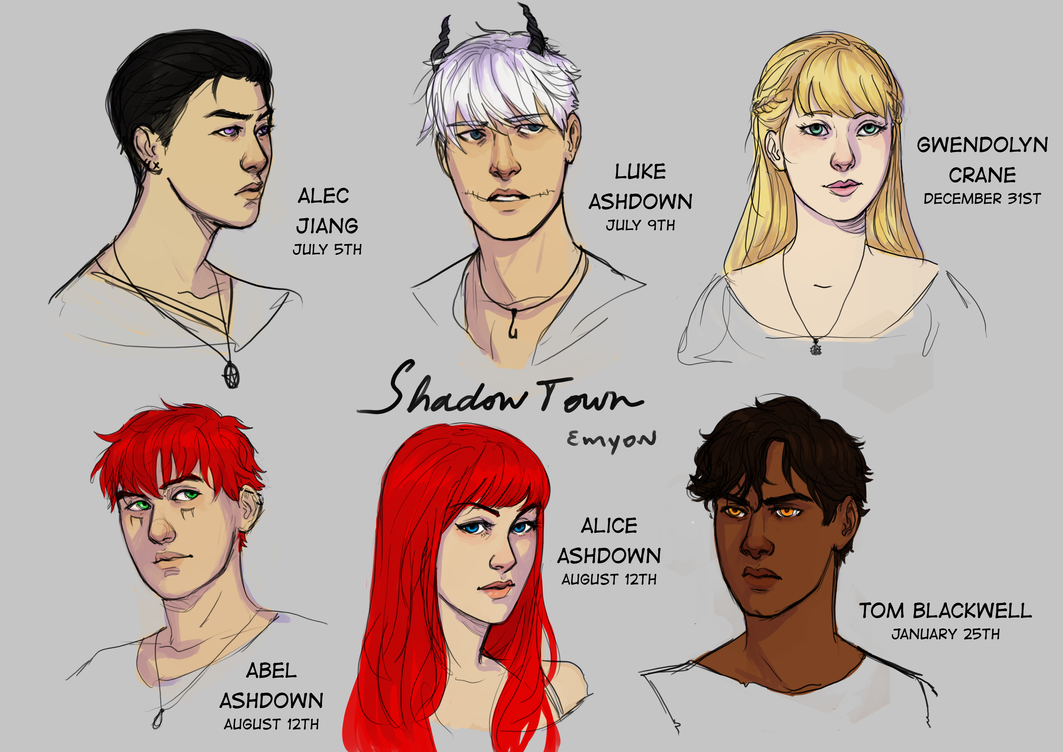 Shadowtown Charas Pt3 by Emyon