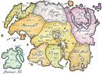 ElderScrolls world Map