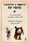 preorders feldspathe and ambroise soon open ! by mewiefish