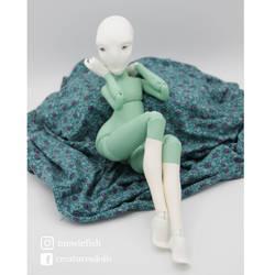 Novgorod doll by Creatures Dolls (Mewie fish)