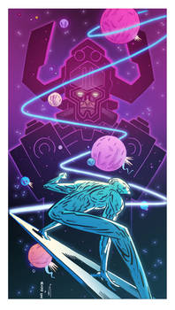 Andrew MacLean Silver Surfer COLOR