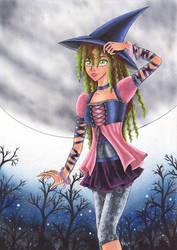 Modern Witch by Sitriel