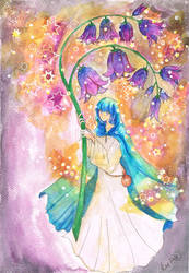 Violet bells by Sitriel