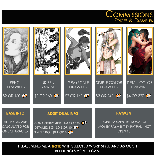commission template