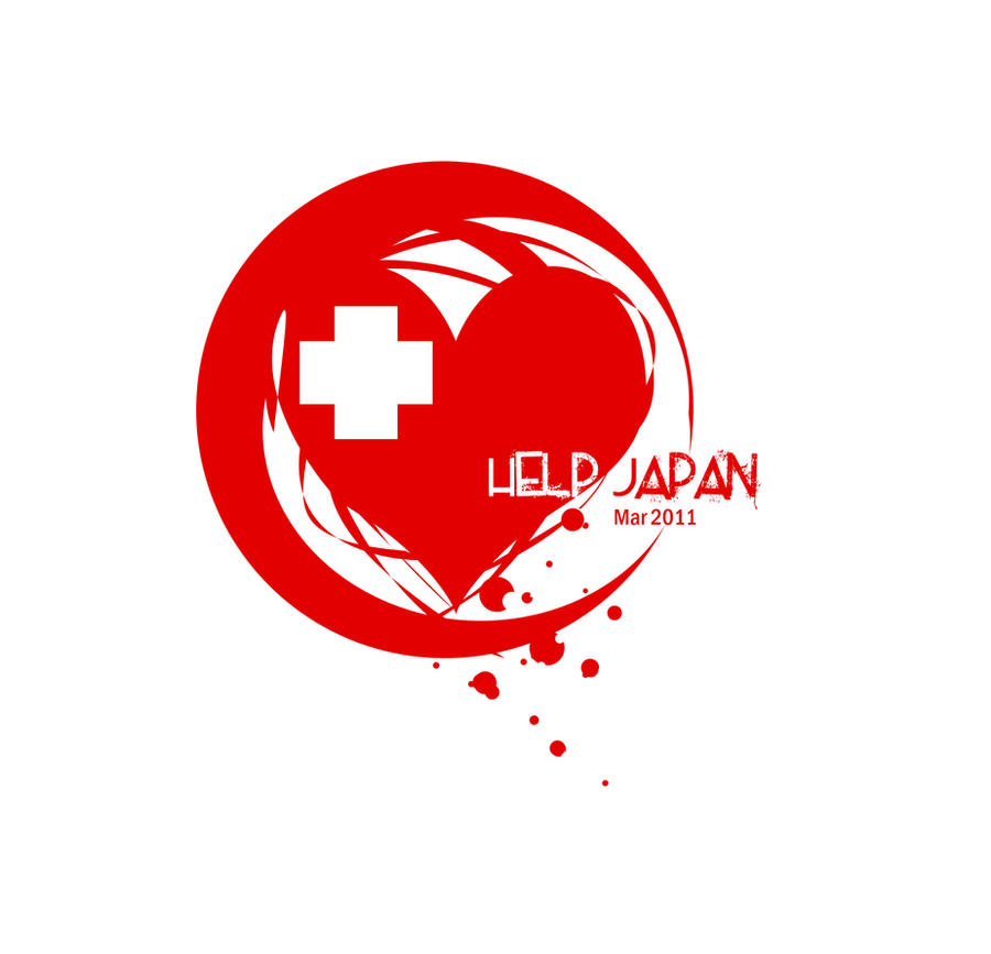 HELP JAPAN by koyomel-doughnut