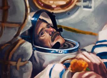 Chris Hadfield by koyomel-doughnut
