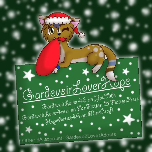 GardevoirLoverHope's Profile Picture