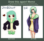 Greenhead's before.after meme