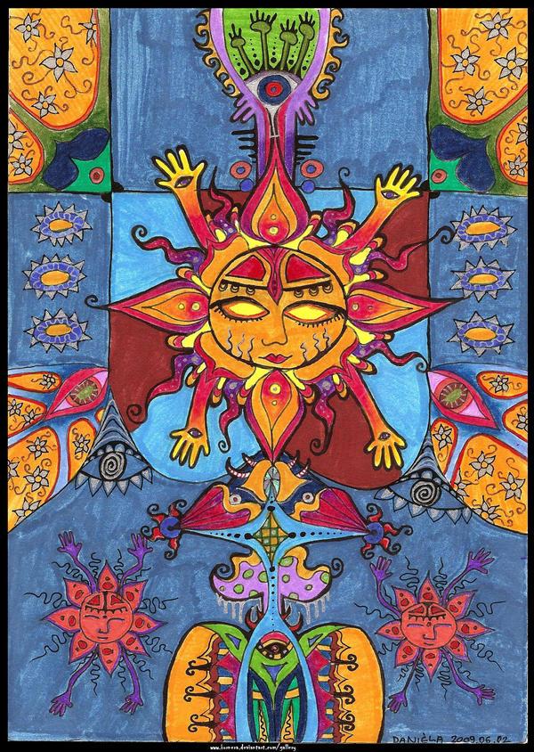 Four Arm Sun by kornera