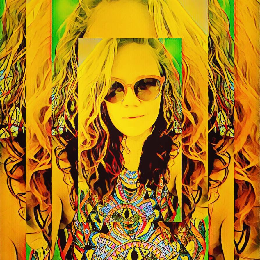 Selfie psychedelic by kornera
