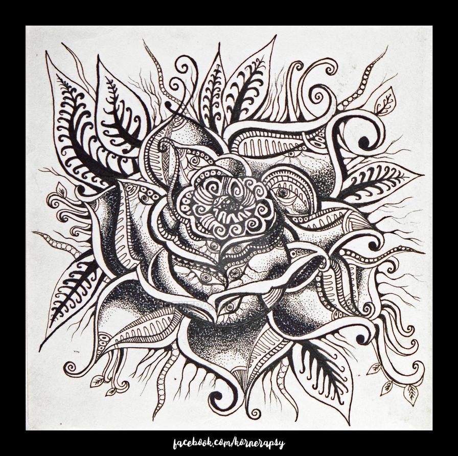 Rose by kornera