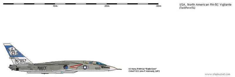 FD-Scale North American NA-296 RA-5C Vigilante 7