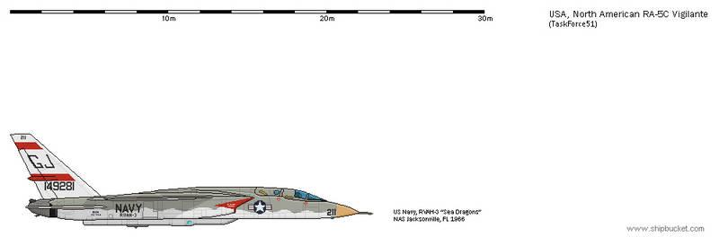 FD-Scale North American NA-296 RA-5C Vigilante 8