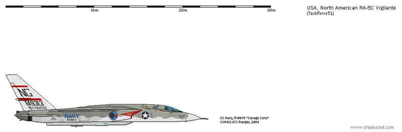 FD-Scale North American NA-296 RA-5C Vigilante 9