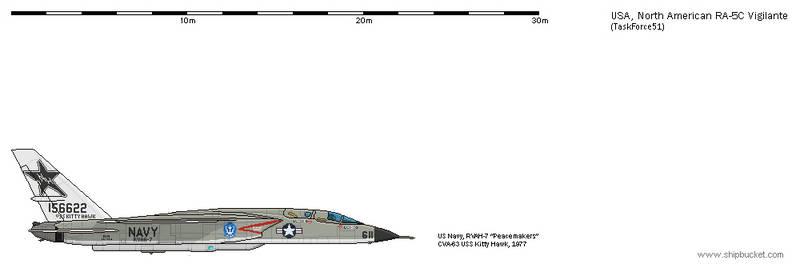 FD-Scale North American NA-247 RA-5C Vigilante 11