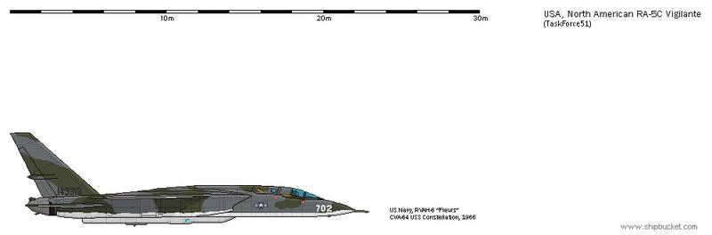 FD-Scale North American NA-296 RA-5C Vigilante 12