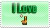 I Love Llamas Stamp by ilovestampsalot