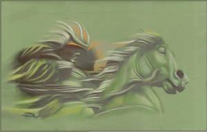 Dark Horseman by AramN