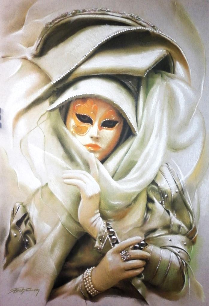Silver Lady by AramN
