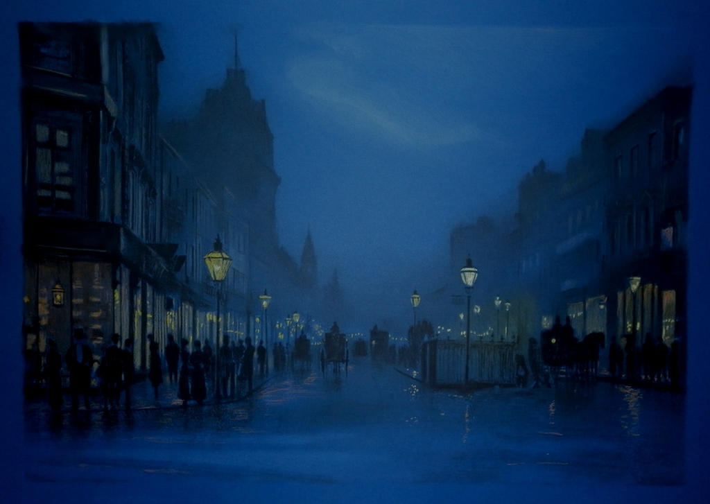 Blue city by AramN