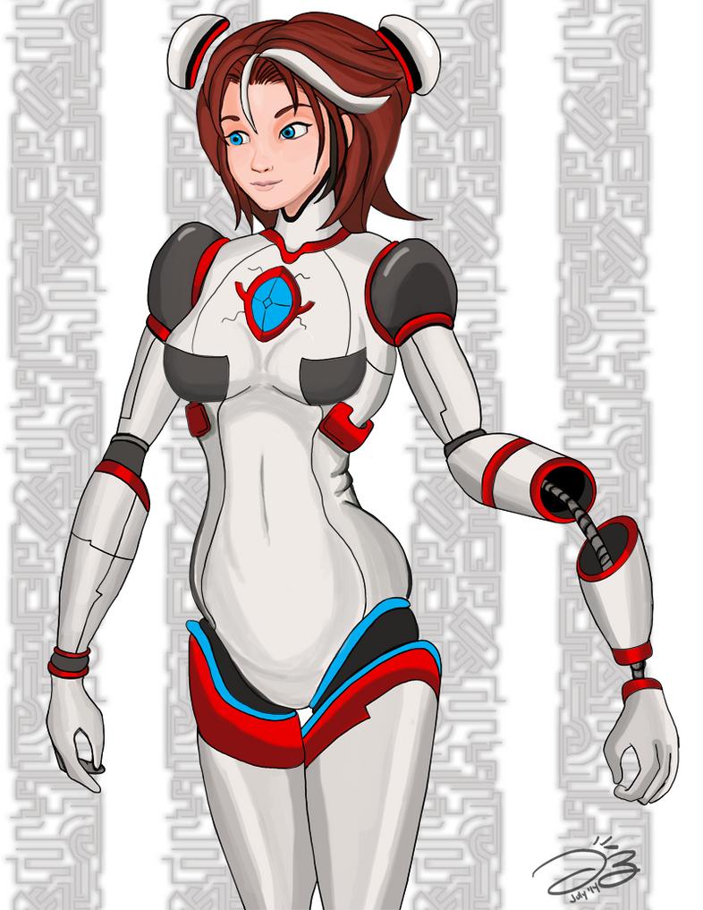 Robo Girl by DeJaguar