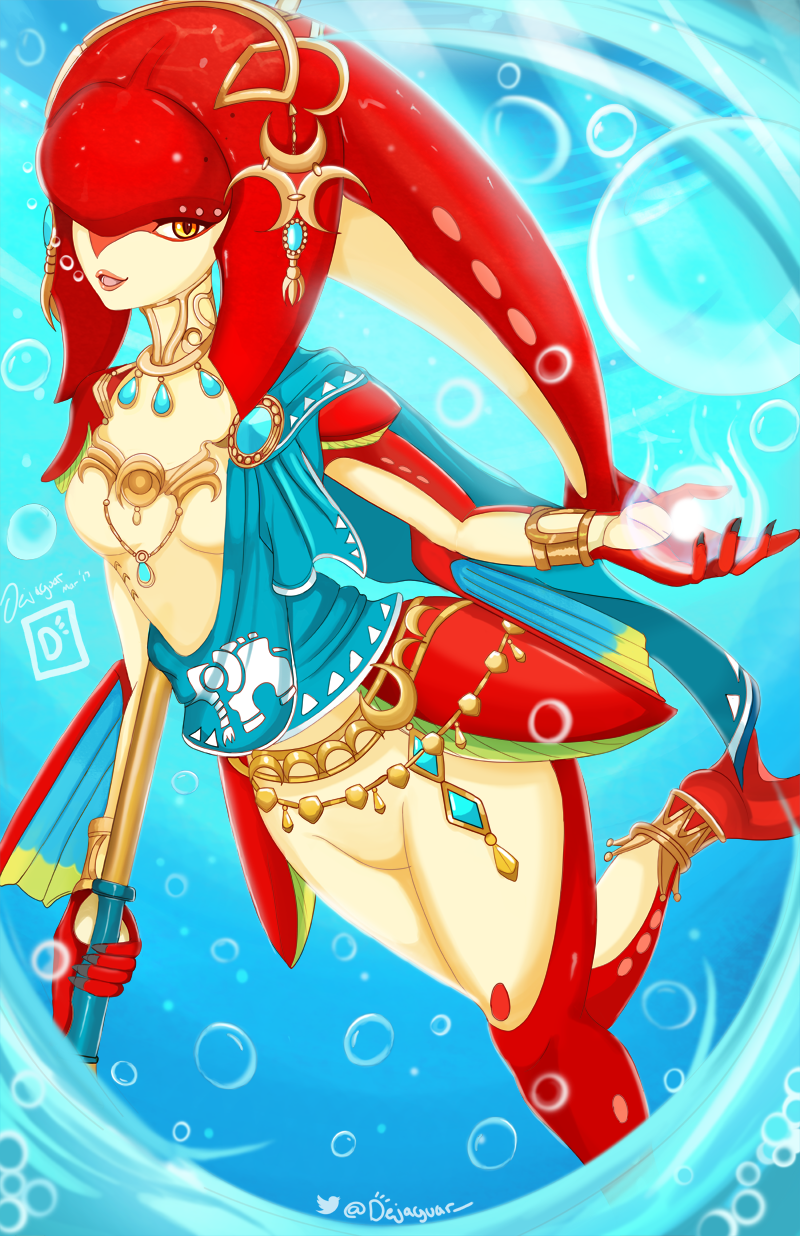 Princess Mipha - BOTW by Dejaguar