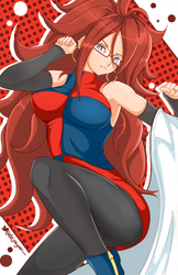 Android 21 - Dragonball Fighters Z by Jellcaps