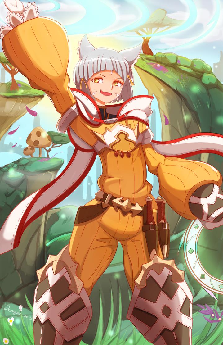 Nia - Xenoblade Chronicles 2 by Dejaguar