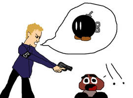 Goomba Meets Jack by Demile