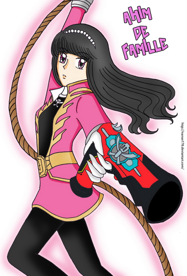 Gokaiger - Ahim in Action by Nanao178 on DeviantArt
